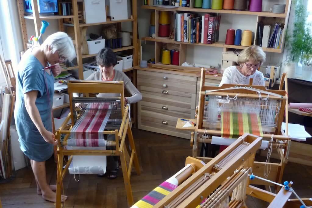 Dominique et Emmanuelle à l'oeuvre avec Betty