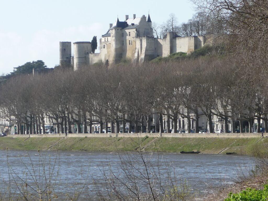 Chinon, et sa forteresse