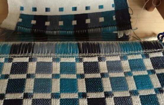 double-chaîne coton lin