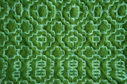 Deflected doubble weave avec du cottolin et du colcolastic de chez Venne