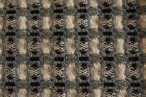 Deflected double weave avant lavage