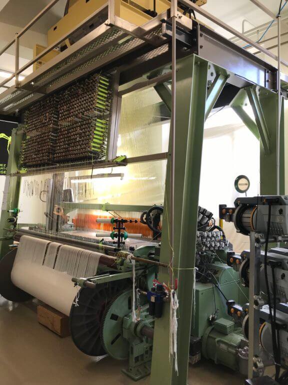 Néolice, une entreprise de tapisserie sur métier Jacquard